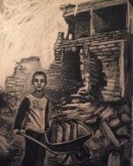 Collecting water, Yemen